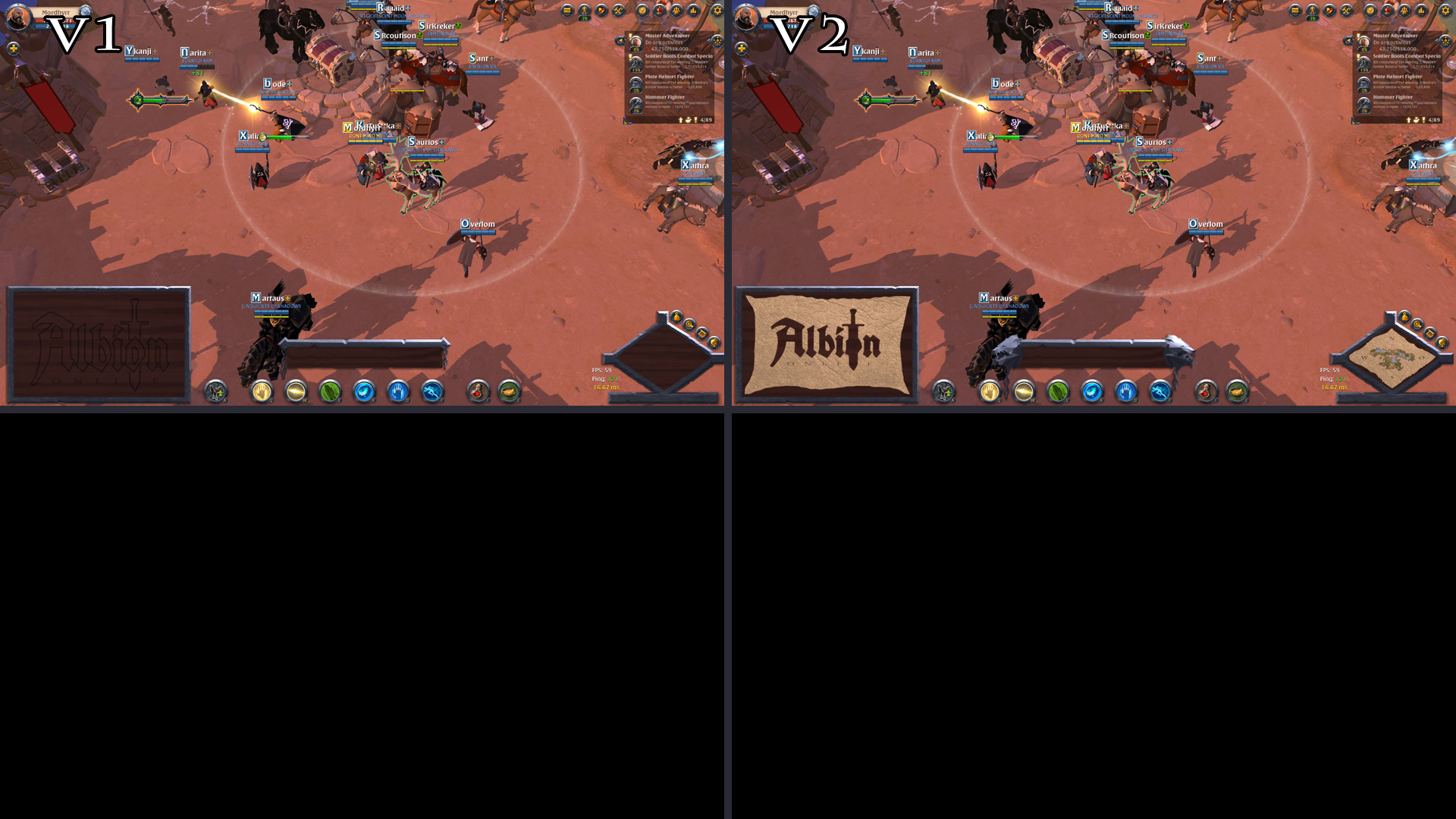 Free Twitch overlay for Albion Online - Video and Media